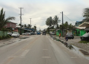 Street in Majuro (Photo credit: Erin Magee, AusAID)