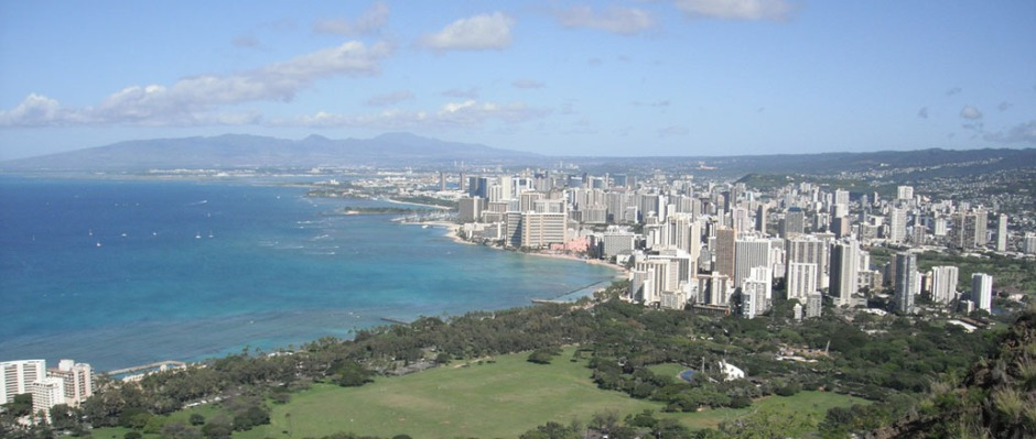 View of Waikīkī from Diamondhead. Photo courtesy of Victoria Keener.